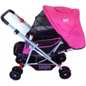 Toy Collections IRDY S0829A Stroller with Mosquito Net (pink)