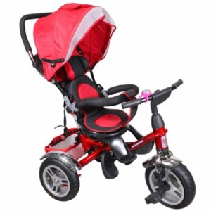 Tricycle Ride Training Hand Push Bike Umbrella Stroller Carriage
