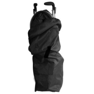 Universal Baby Umbrella Stroller Travel Carrying Storage Drawstring Bag Case Black - intl