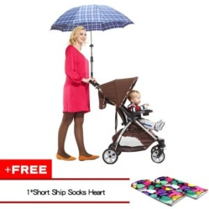 Vanker-Baby Kids Stroller Trolley Child Car Bicycle Sun ShadeUmbrella Holder Bracket(buy 1 get 1 free) - intl
