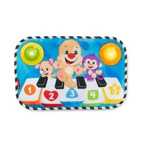 Fisher-Price Laugh & Learn Kick & Play Piano- Multi Color
