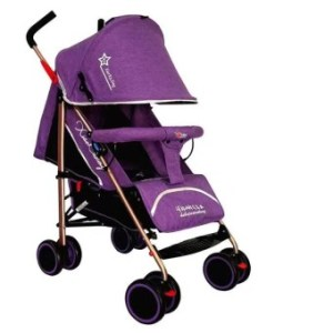 Foldable Compact Baby Stroller with Canopy Style #C601B (Blue)