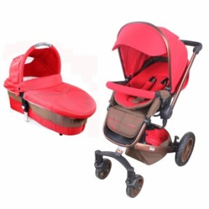 Viki S2100A Baby Viewer Stroller and Baby carrier basket (Red)