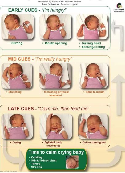 How to know when your baby is ready to breastfeed