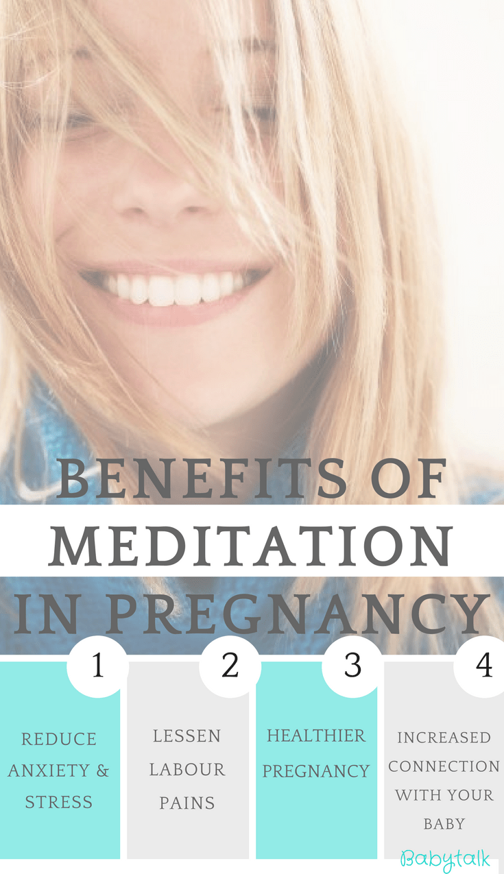 Find out about a great meditation app that will up your meditation game in pregnancy!