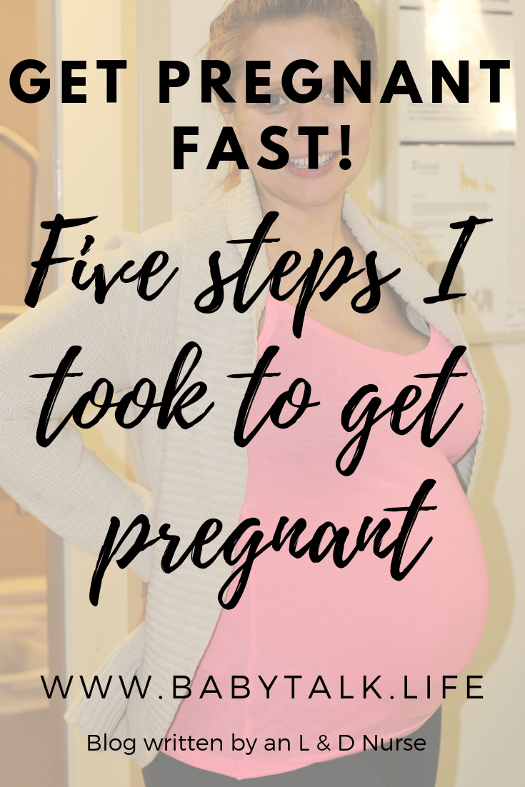 Five steps to a healthy pregnancy