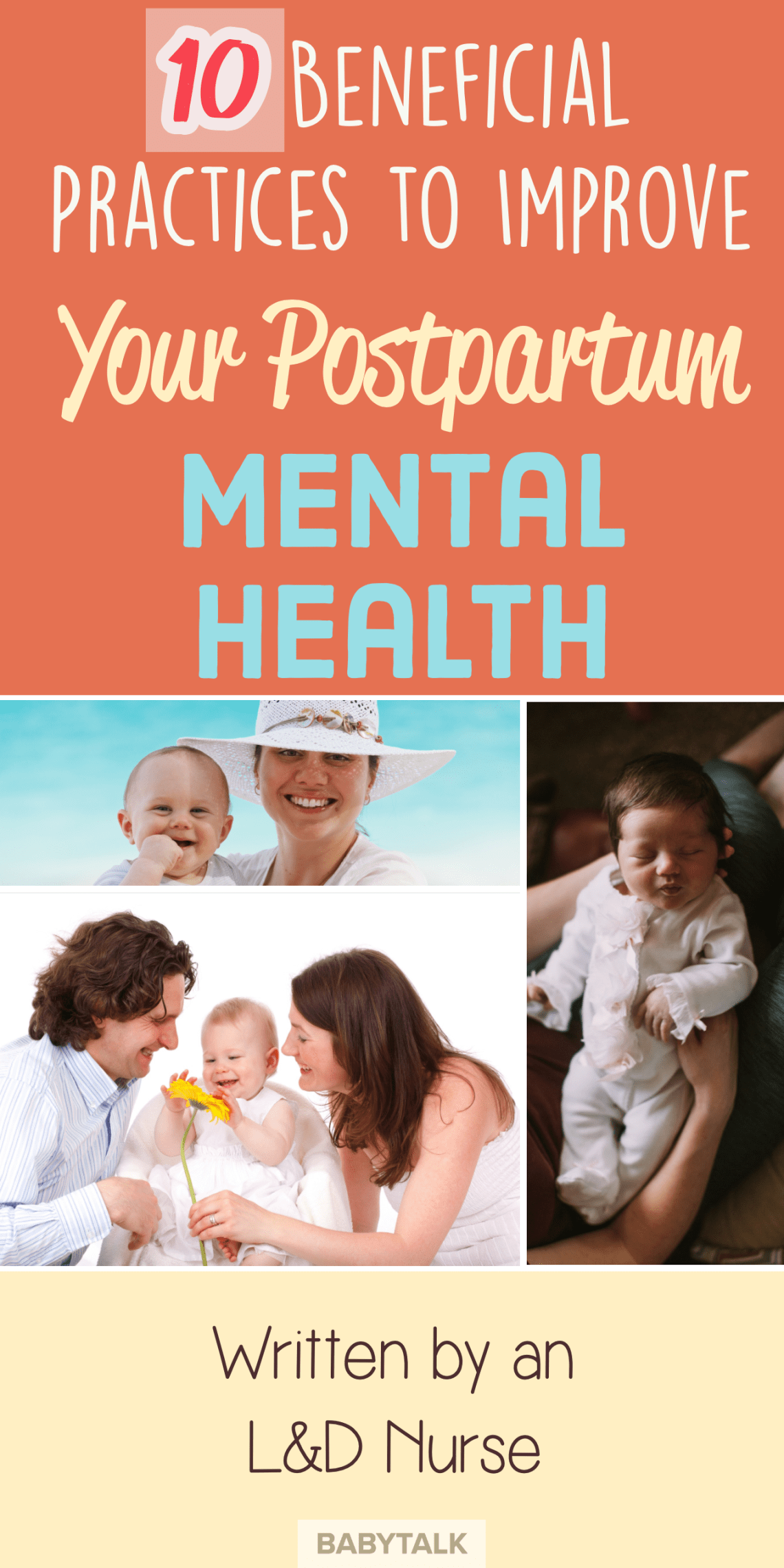 10 Ways to Supercharge Your Postpartum Mental Health