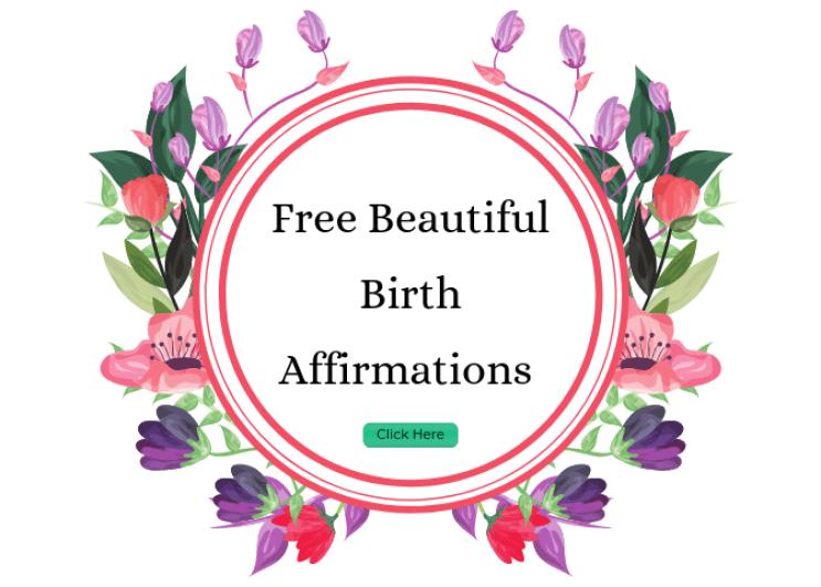 free birth affirmations