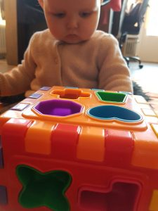 Ontwikkeling baby blokjes