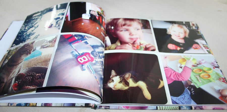 Fotofabriek fotoboek binnenkant
