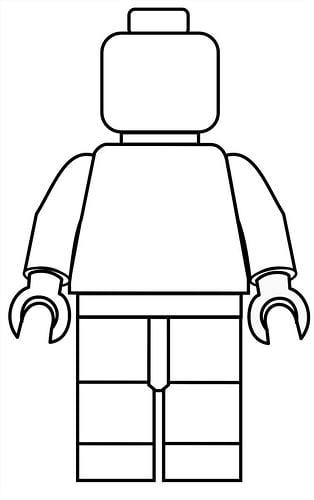 Lego Poppetje Kleurplaat Babytijd Com