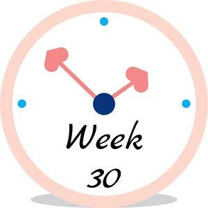Zwangerschap week 30