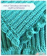 Half Double Crochet Baby Blanket Pattern ~ Dancox for
