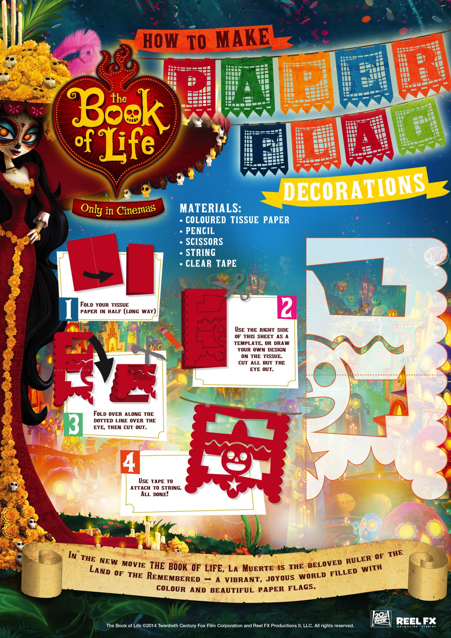 The BOOK OF LIFE World Market Exclusives