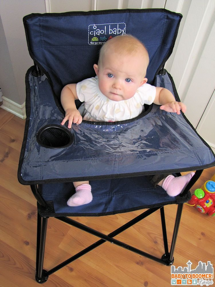 Ciao Baby Portable High Chair Perfect for OntheGo or Home