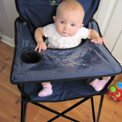 Portable High Chair Baby Accent Purple Ciao Perfect For On The Go Or Home
