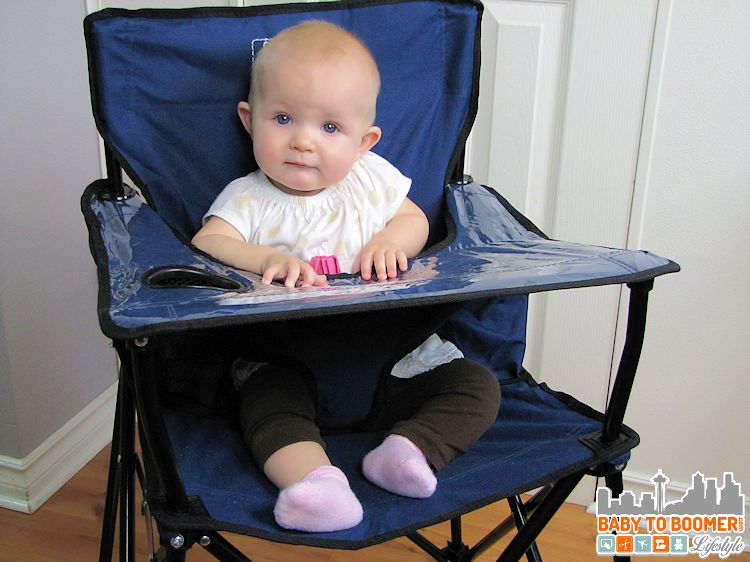 portable high chair baby oversized folding quad ciao perfect for on the go or home
