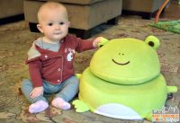 Frog Critter Cushion - Adorable Plush Chair for Kids