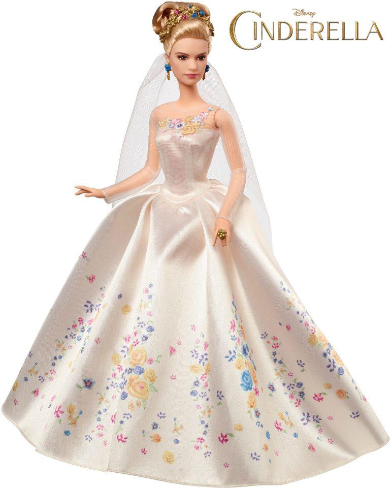 Cinderella Barbie 2015 Movie Dolls Released