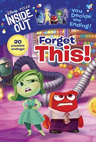 Disney Pixar INSIDE OUT Movie Books For Kids