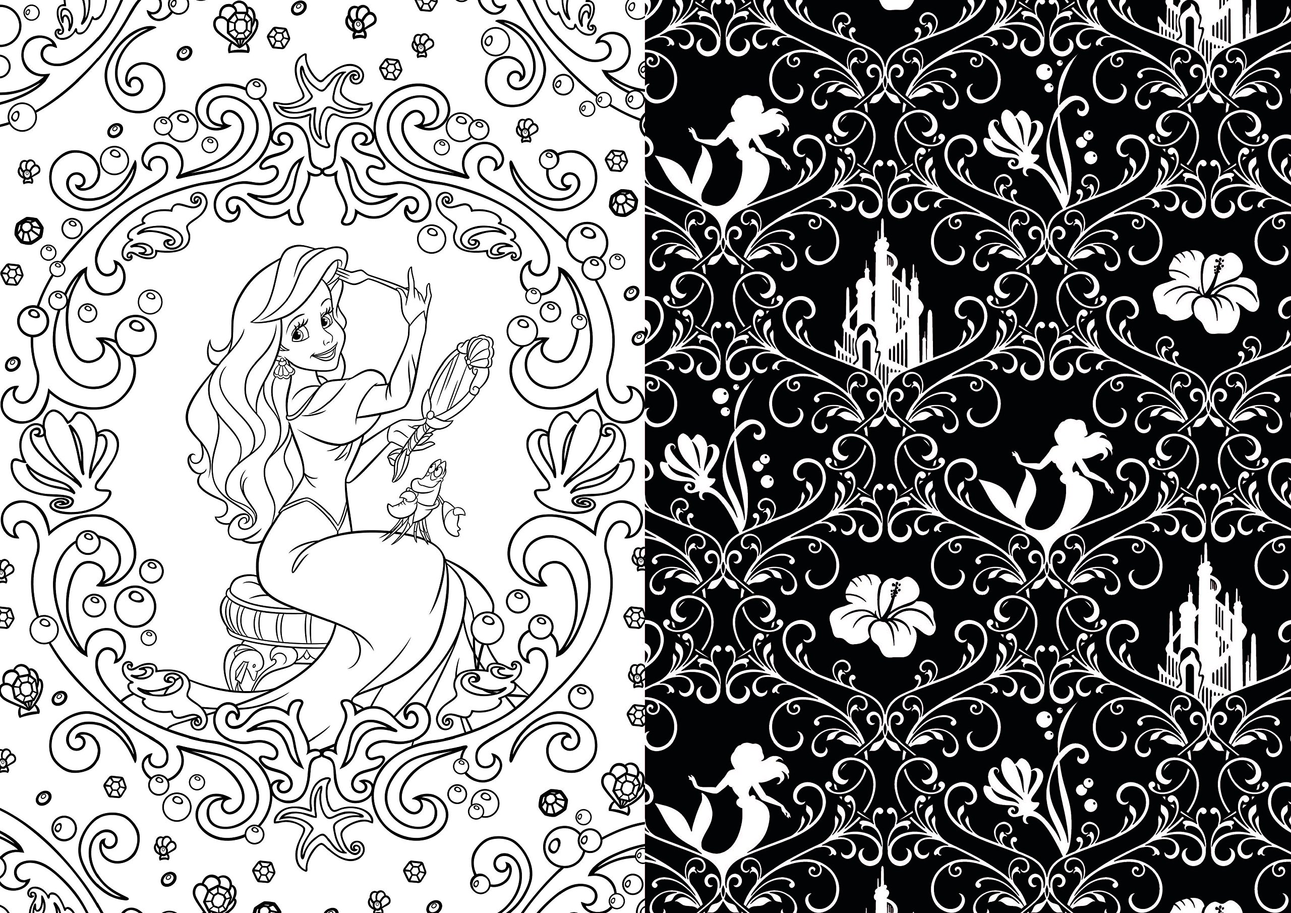 Disney Adult Coloring Books - Baby to Boomer Lifestyle   free coloring pages for adults disney