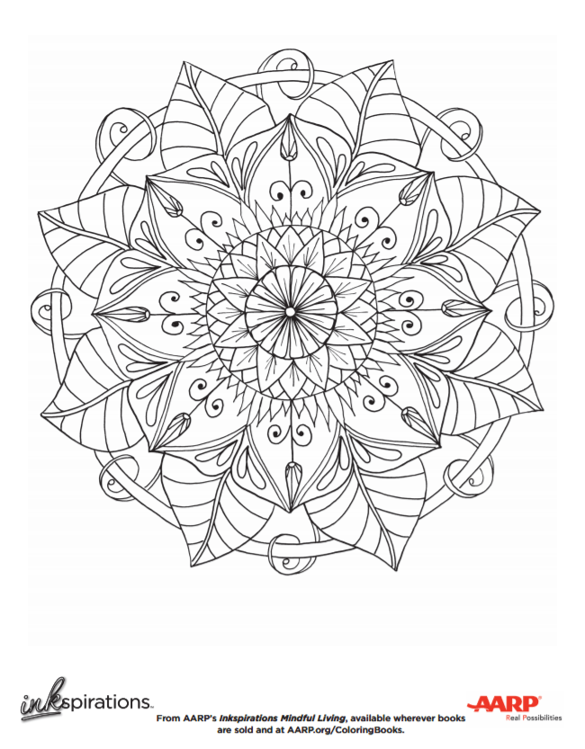 Coloring Books for Seniors: Including Books for Dementia