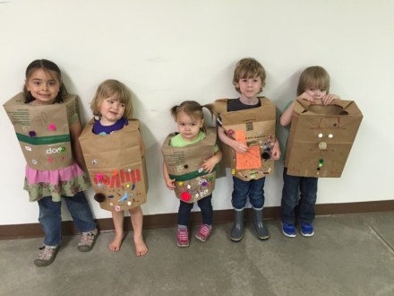 Paper bag princes and princess!