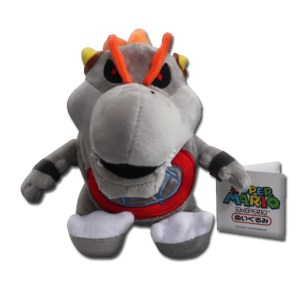 mario stuffed animal gray bowser