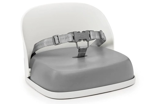 oxo tot perch booster seat with straps isolated on white background