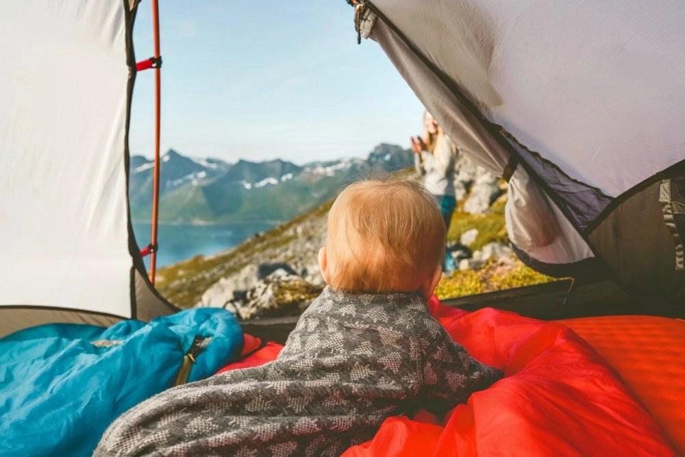 camping with a baby featured image