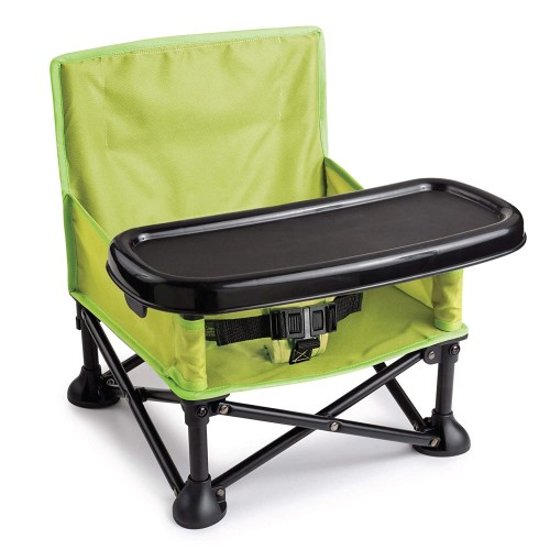 summer infant pop n sit portable booster chair seat for indoor outdoor use
