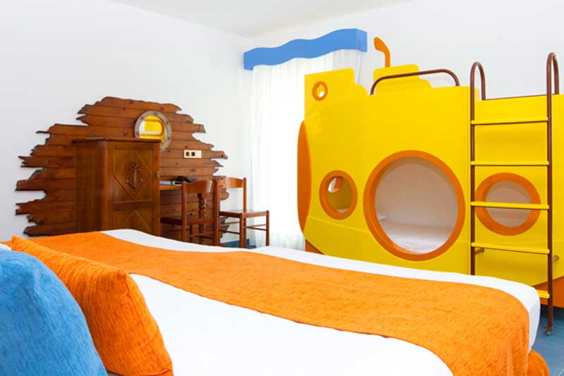 Hotel tematico para niños en Roquetas de Mar