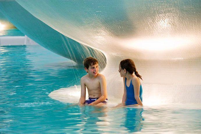 Balneario exclusivo para niños