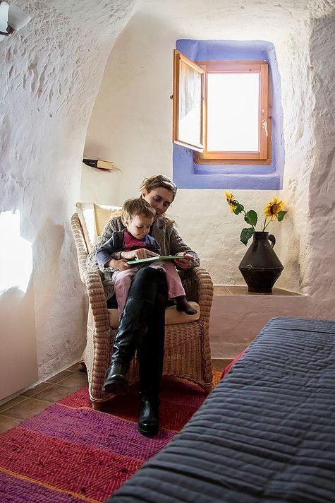 casas cuevas en Navarra