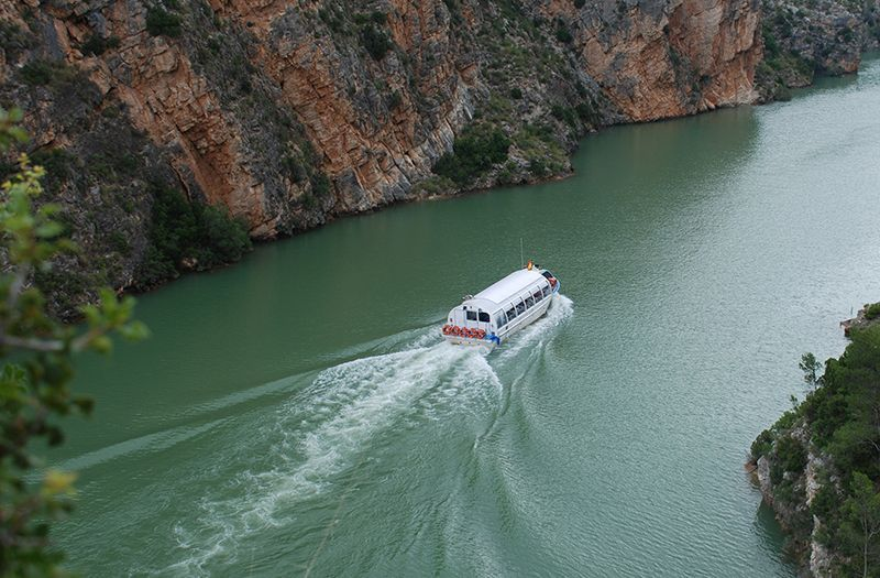ruta fluvial Cofrentes
