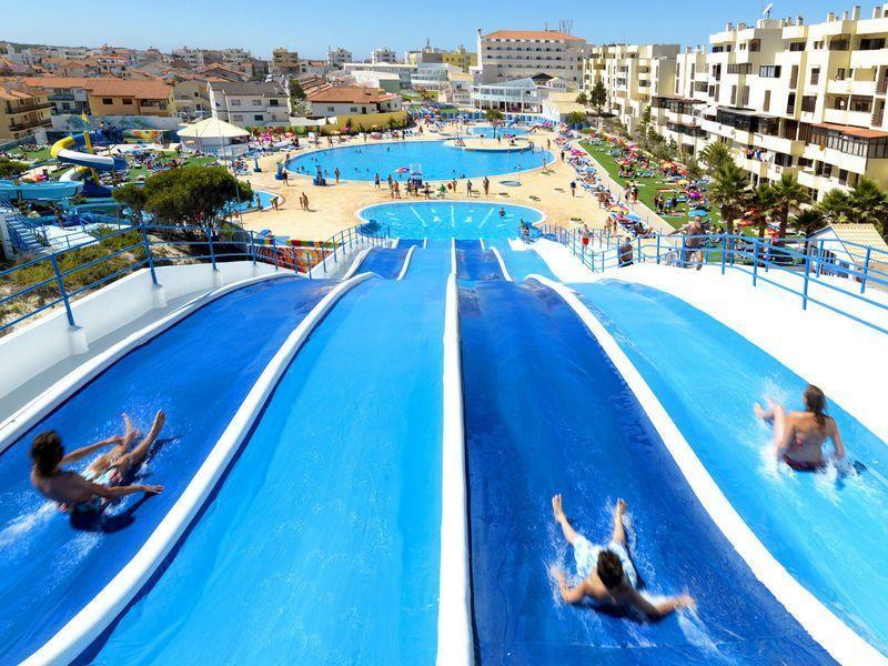 Un hotel en Portugal con parque acuático