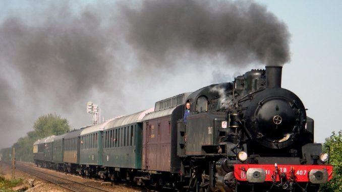 Tren de Harry Potter en Escocia