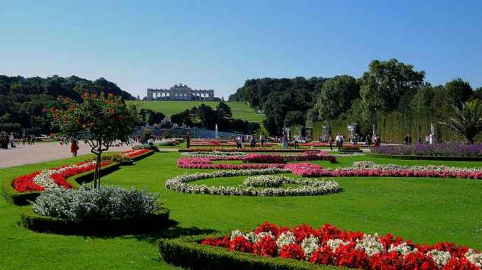 jardines de schonbrunn