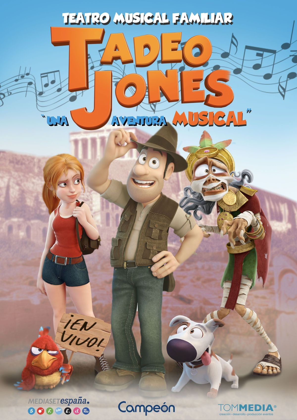 TADEO JONES EL MUSICAL