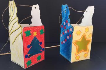 la magia de la navidad en la pedrera