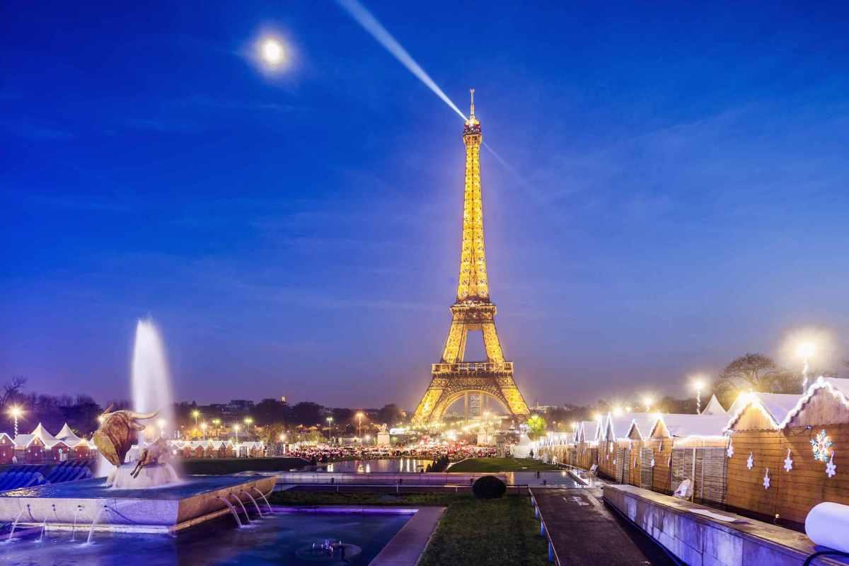 mercadillo Navidad en Paris