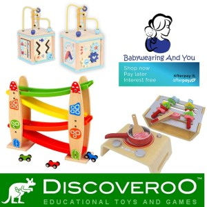 Discoveroo Wooden Toys