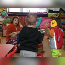 I enjoy Playcentre as much as my kids do ;)