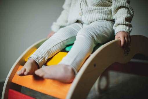 Baby rocker: uno scivolo a casa