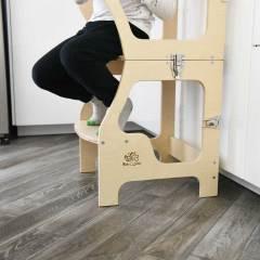 torre di apprendimento Baby Wood