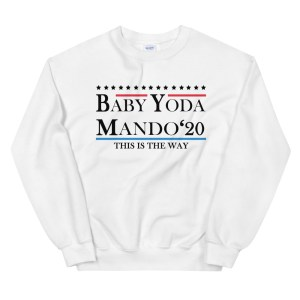 baby yoda mando 2020 sweatshirt