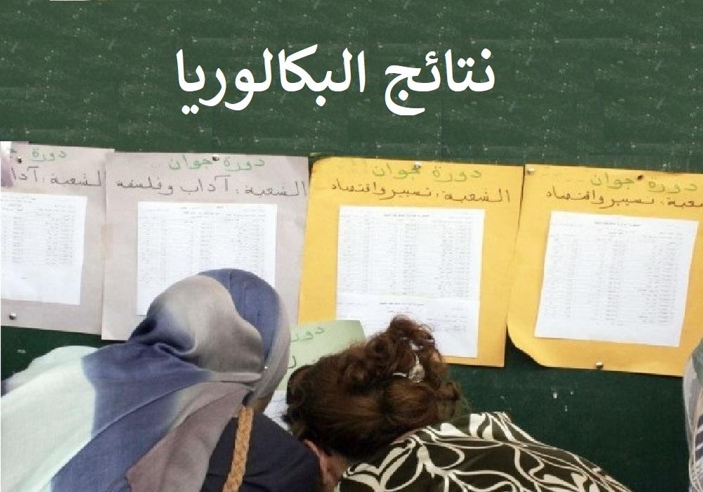 نتائج بكالوريا الجزائر 2020 3