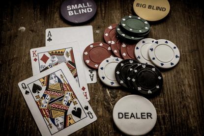 德州撲克各牌型贏錢機率不同-玩法就不同