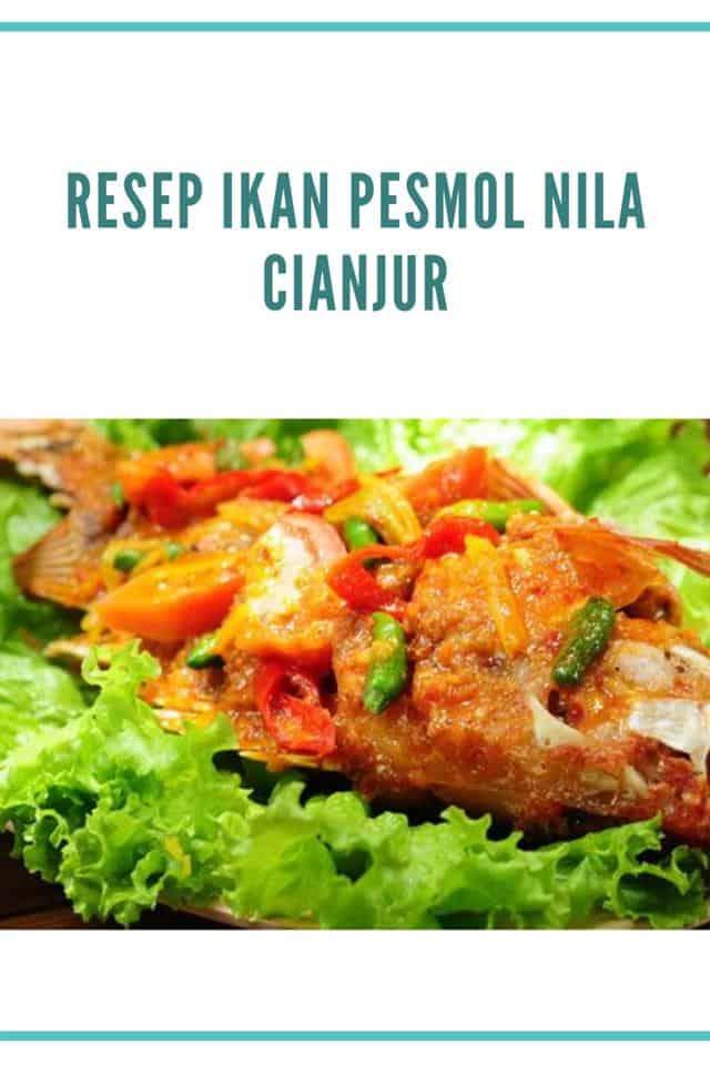 Bumbu Pesmol Ikan Mas : bumbu, pesmol, Resep, Pesmol, Cianjur, Nikmat, Lezat