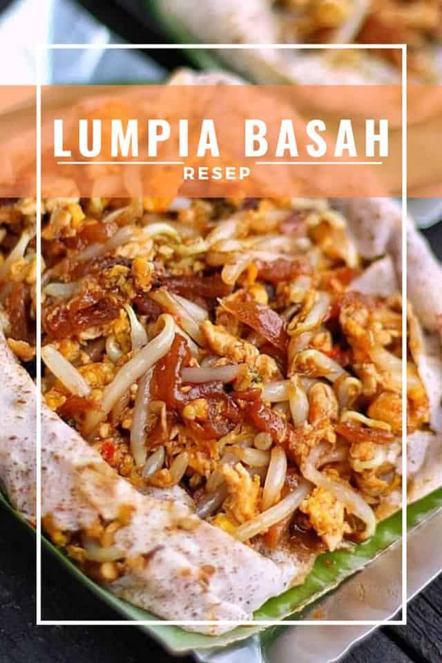 Resep Lumpia Basah Toge : resep, lumpia, basah, Inilah, Resep, Membuat, Lumpia, Basah, Bandung